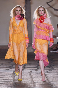 OLGA AND VERA FOR Daizy Shely (Opening S/S 19) MILAN